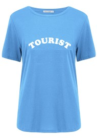 SOUTH PARADE Jane Tourist T-Shirt - Blue