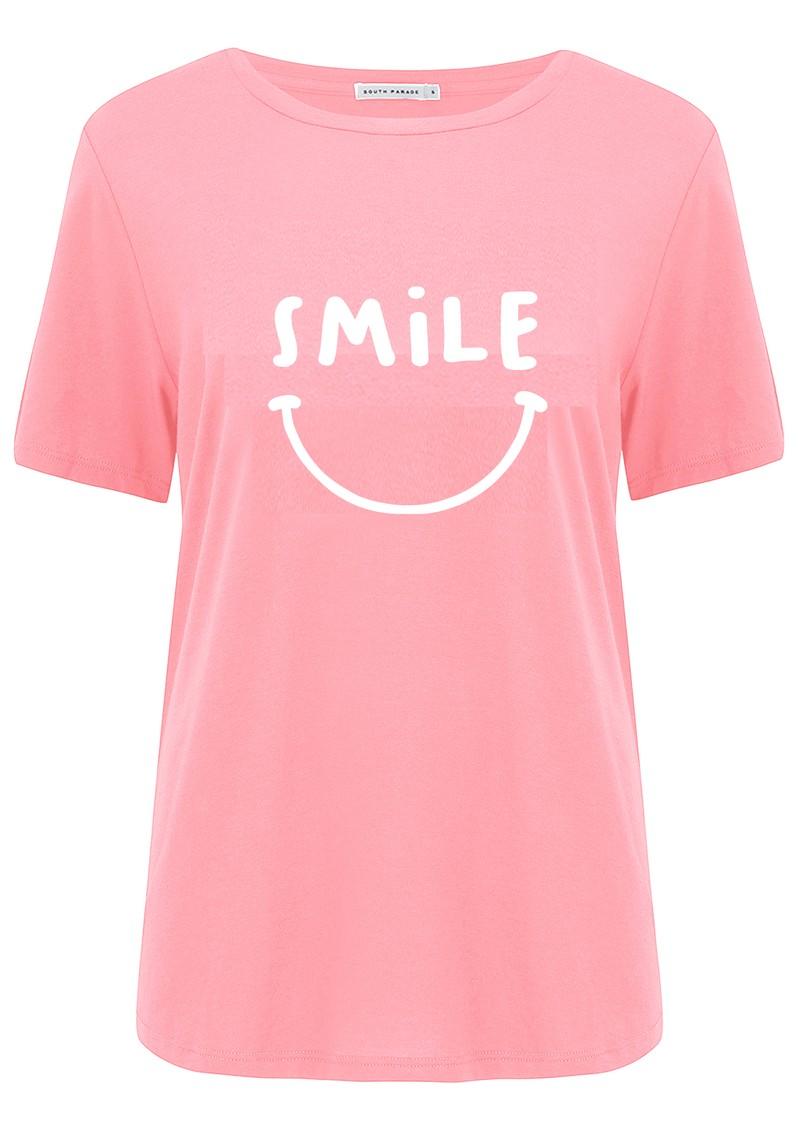 SOUTH PARADE Jane Smile T-Shirt - Pink main image