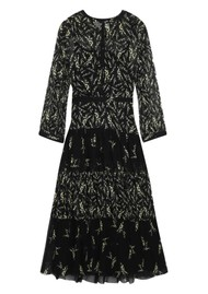 Ba&sh Morris Floral Dress - Black