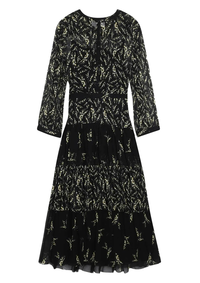 Ba&sh Morris Floral Dress - Black  main image