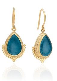 ANNA BECK Mosaic Apatite Teardrop Earrings - Gold