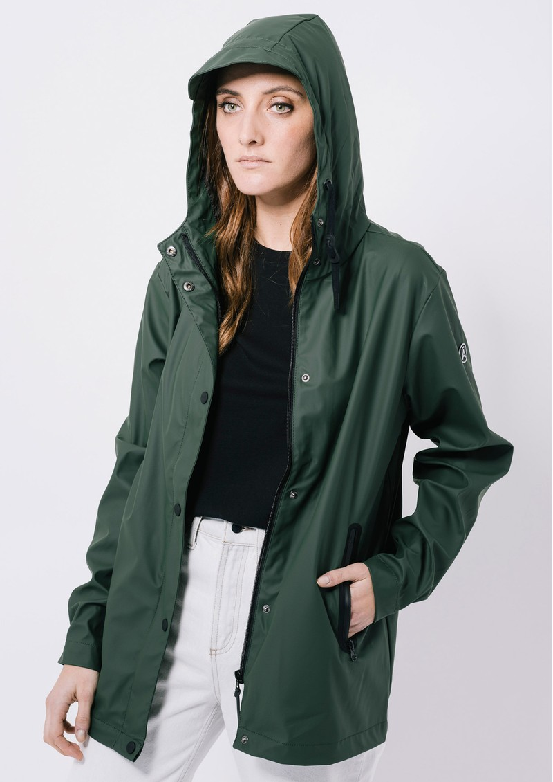Euri Raincoat - Olive main image