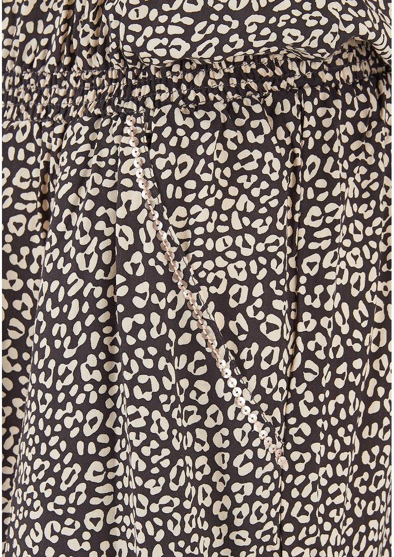 BEACH GOLD Strapless Jumpsuit - Tulum Slate main image