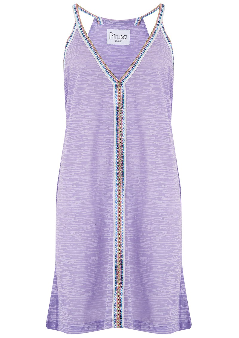 PITUSA Mini Sun Dress - Lavender main image