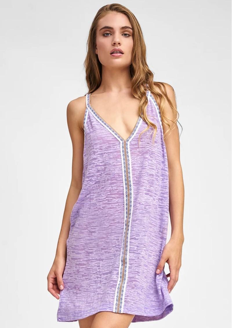 PITUSA Mini Sun Dress - Lavender main image