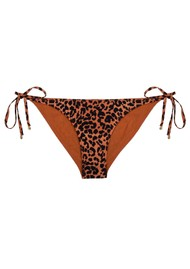 LOVE STORIES Vanity Bikini Bottom - Leopard