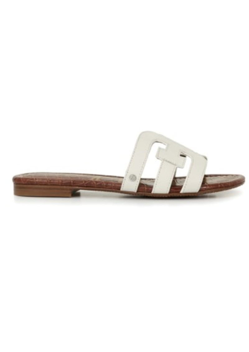 Sam Edelman Bay Leather Sandals - Bright White main image