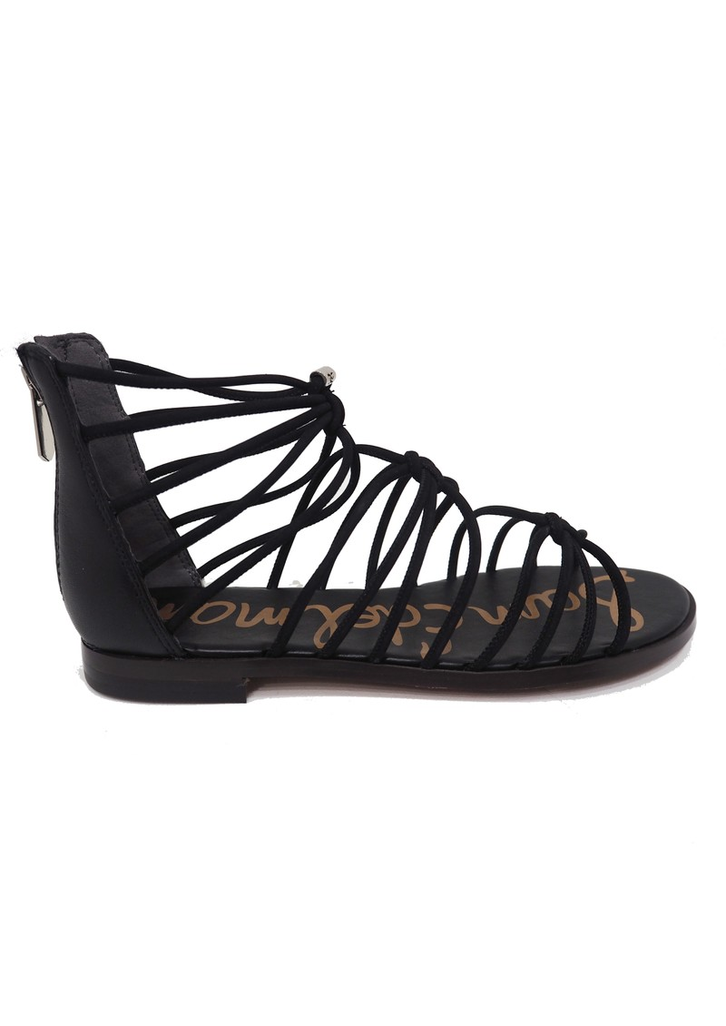 Sam Edelman Emi Smooth Nubuck Sandals - Black main image