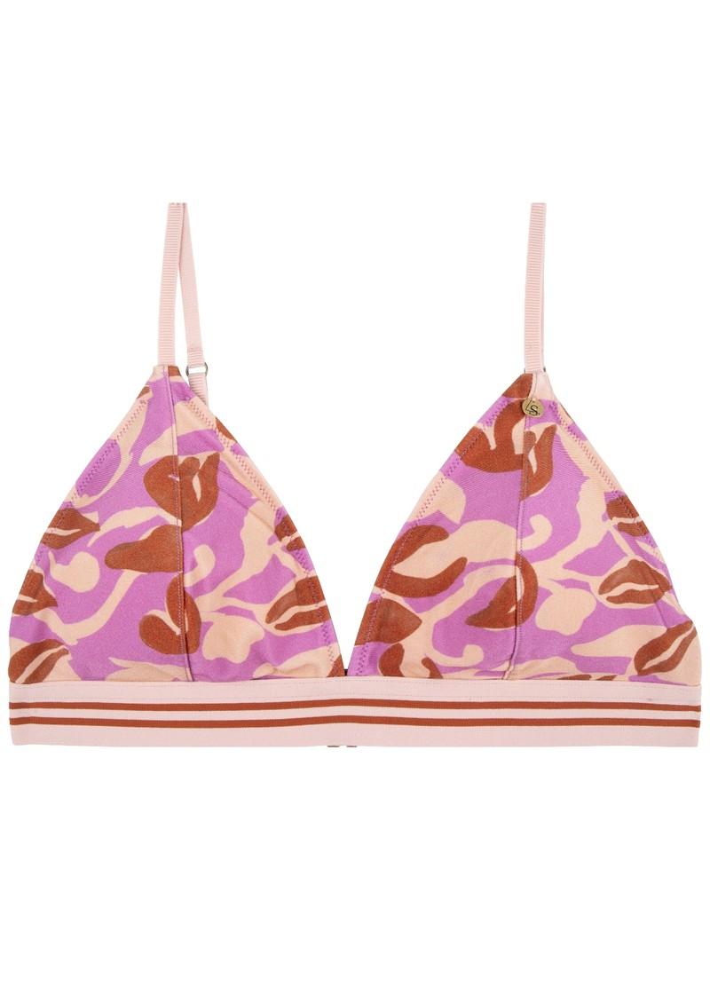 LOVE STORIES Darling Bikini Top - Abstract Batik main image