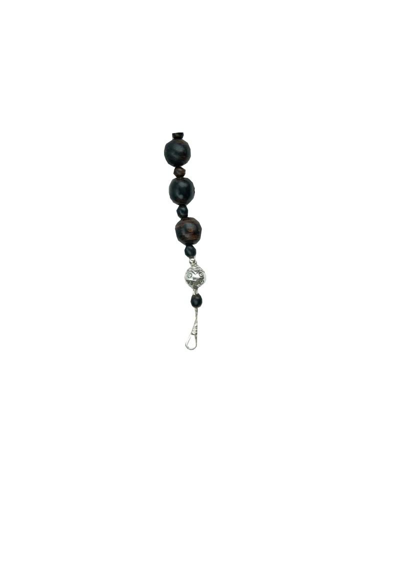 ChloBo Black Coral Rosary Necklace Length 2 main image