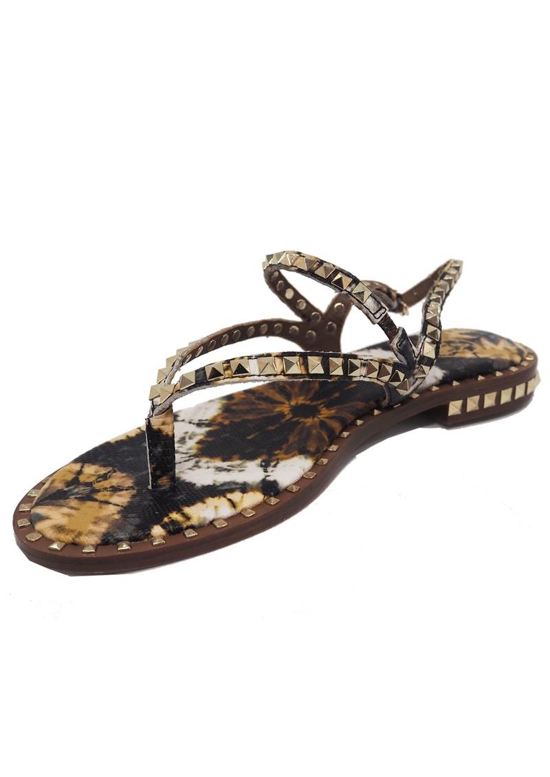 Ash Peps Studded Sandal - Lezard Cuoio main image