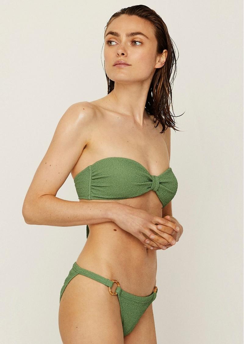 LOVE STORIES Blossom Bikini Bandeau - Ivy main image