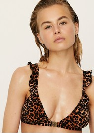 LOVE STORIES Emmy Bikini Top - Leopard