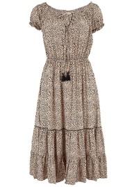 BEACH GOLD Harper Dress- Mimosa Latte