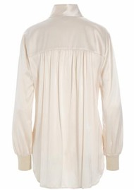 DEA KUDIBAL Kate Silk Tunic - Leche