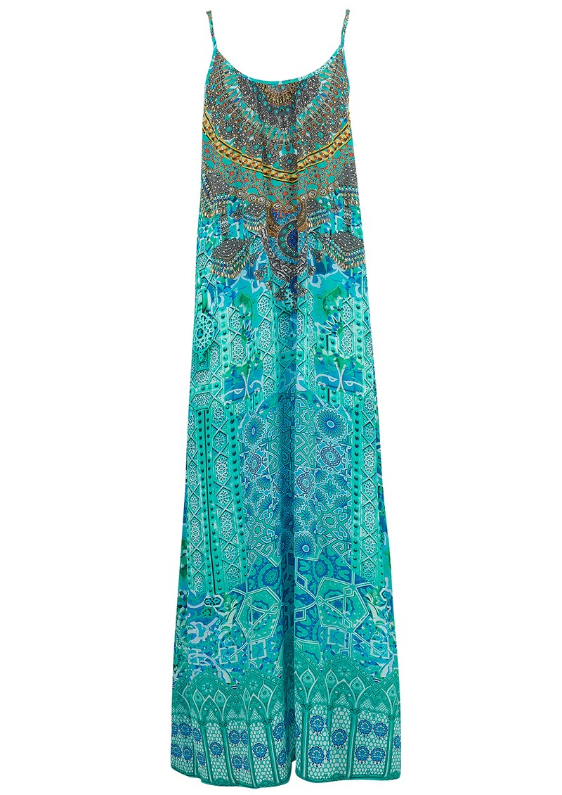 INOA Maxi Dress - Atlantis main image