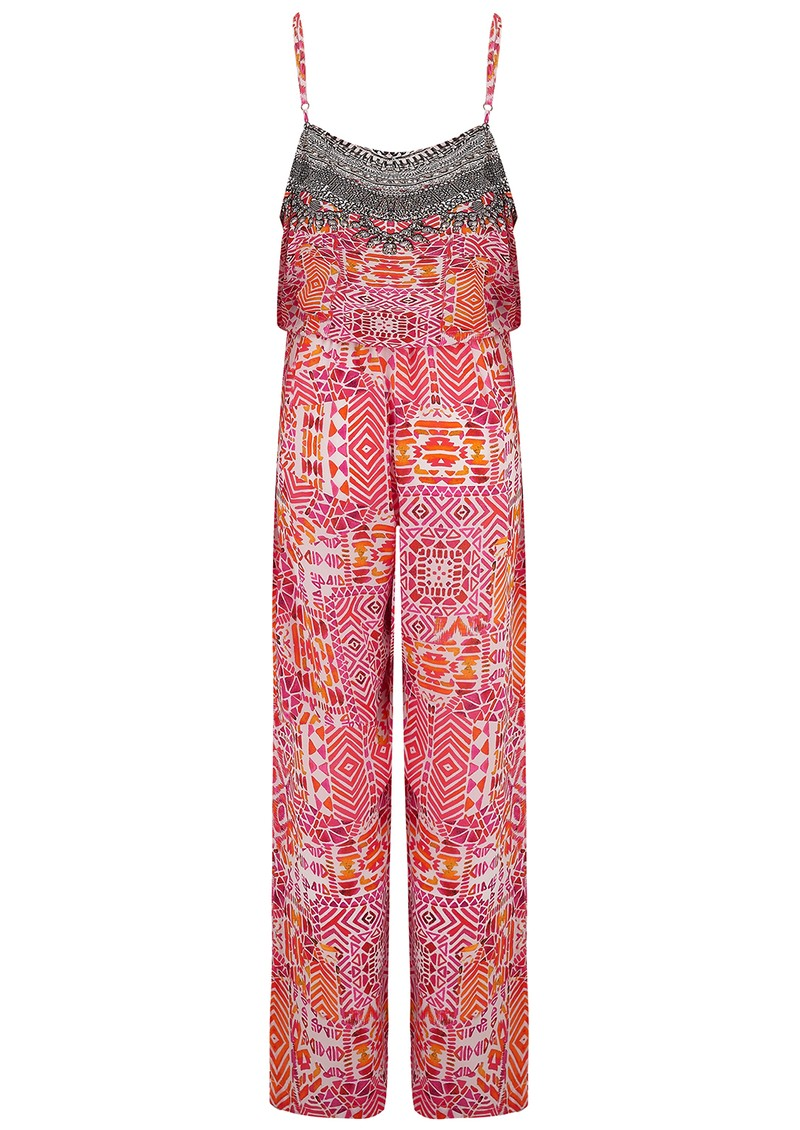 INOA Silk Jumpsuit - Shiraz main image