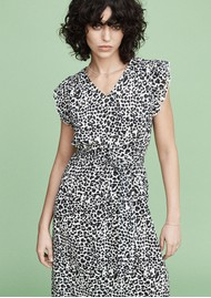 MAYLA Margot Dress - Black Leopard