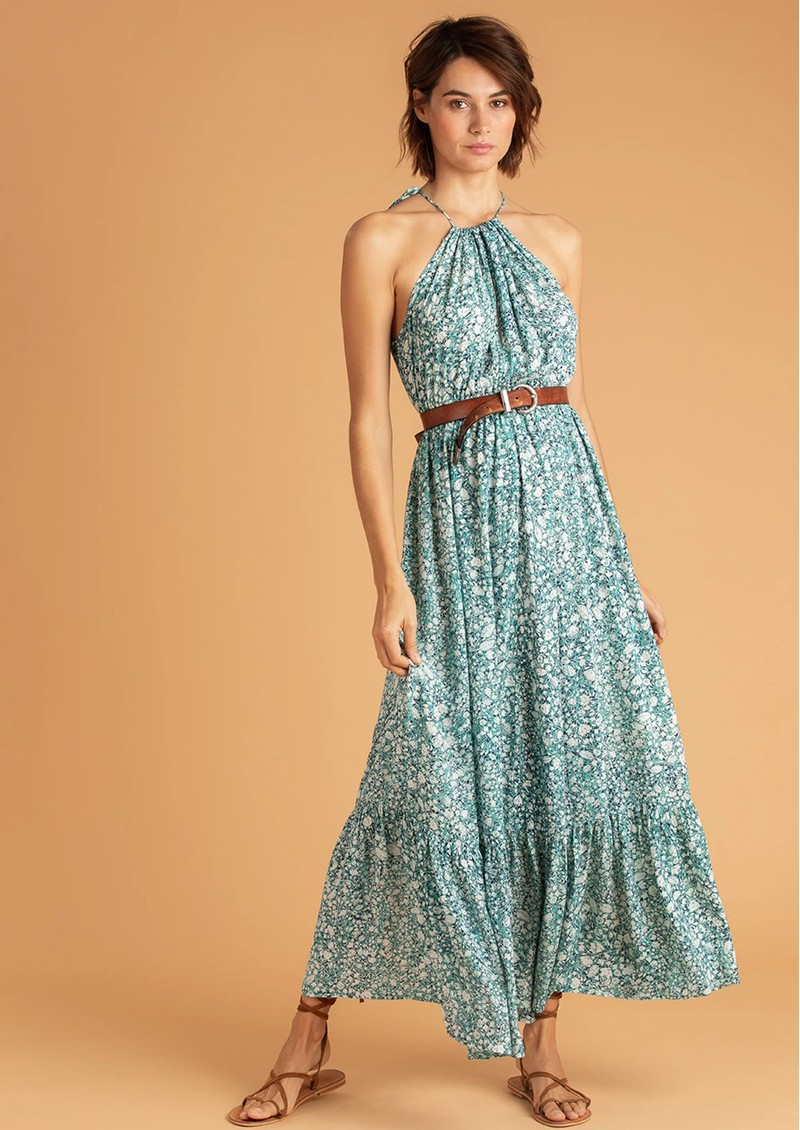 POUPETTE ST BARTH Rachel Sleeveless Maxi Dress - Aqua Aspen main image