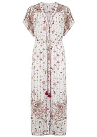 POUPETTE ST BARTH Mya Lace Trimmed Dress - White & Rombo