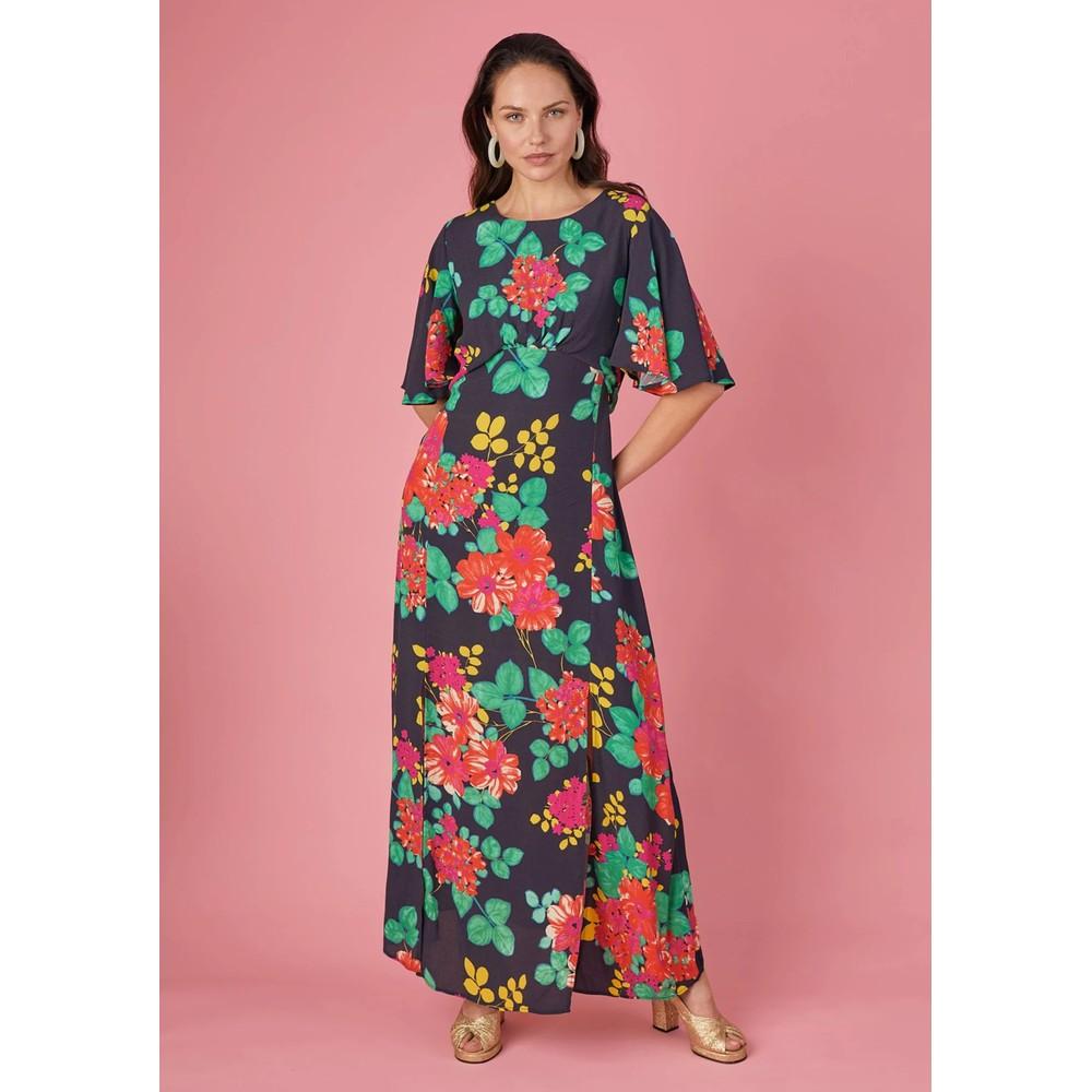 Cherie Dress - Black Floral