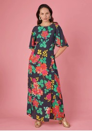 BAILEY & BUETOW Cherie Dress - Black Floral