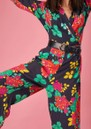 Cherie Jumpsuit - Black Floral additional image