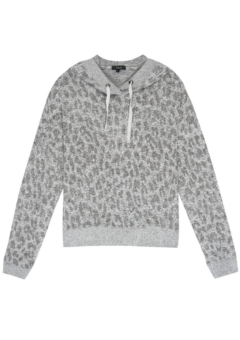 Rails Murray Hoodie - Grey Leopard main image