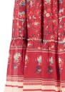 M.A.B.E Sibel Printed Maxi Skirt - Red