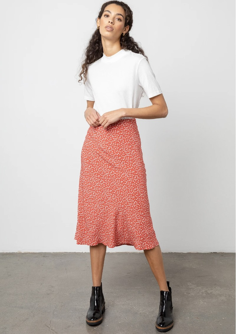 Rails Anya London Skirt - Carmine Daisies  main image