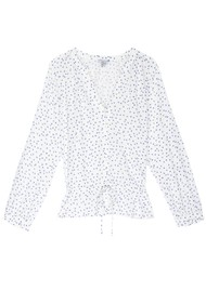 Rails Marti Blouse - White Wisteria