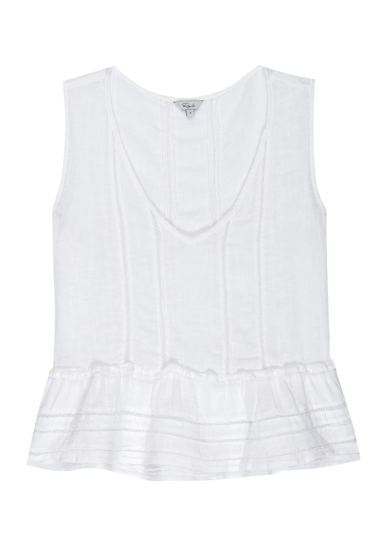 Rails Mira Top - White Lace Detail main image