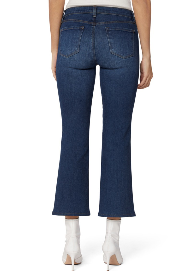 J Brand Selena Mid Rise Boot Cut Cropped Jeans - Arcade main image