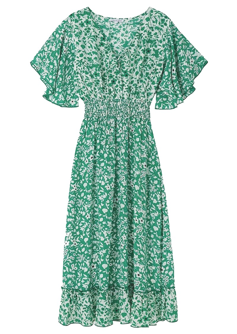 Lily and Lionel Marlowe Dress - Blossom Green main image