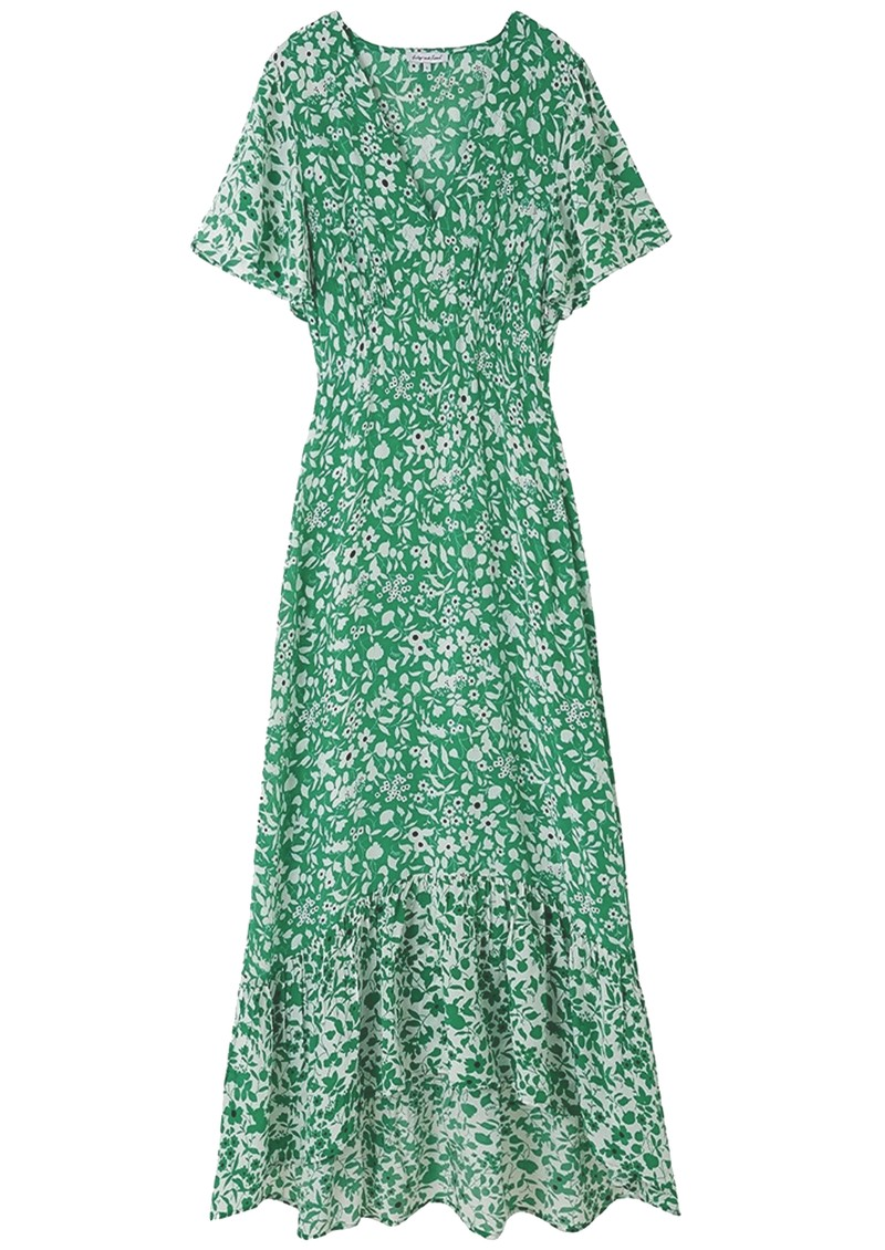 Lily and Lionel Sage Dress - Blossom Green main image