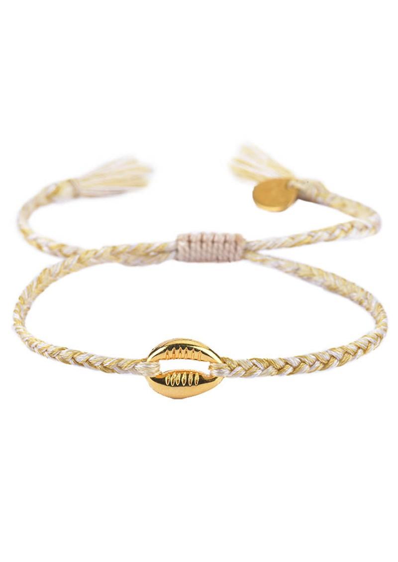 MISHKY Caracolito Shell Bracelet - Neutral main image