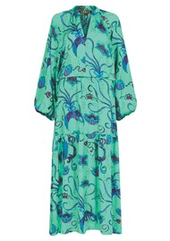 STARDUST Leo Maxi Dress - Emerald