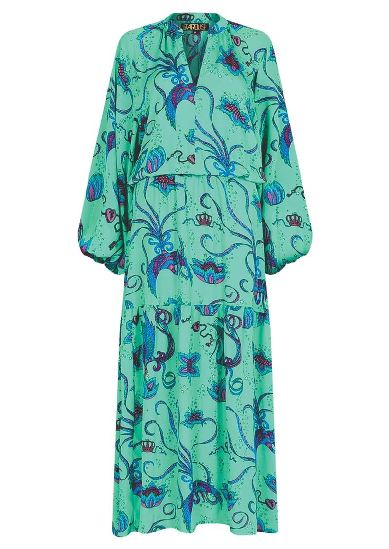 STARDUST Leo Maxi Dress - Emerald main image
