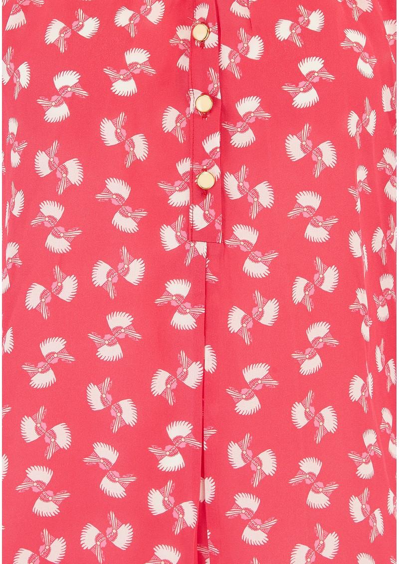 LIBELULA Hartford Silk Top - Red main image