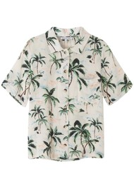 Lily and Lionel Ashley Silk Shirt - Palm Springs