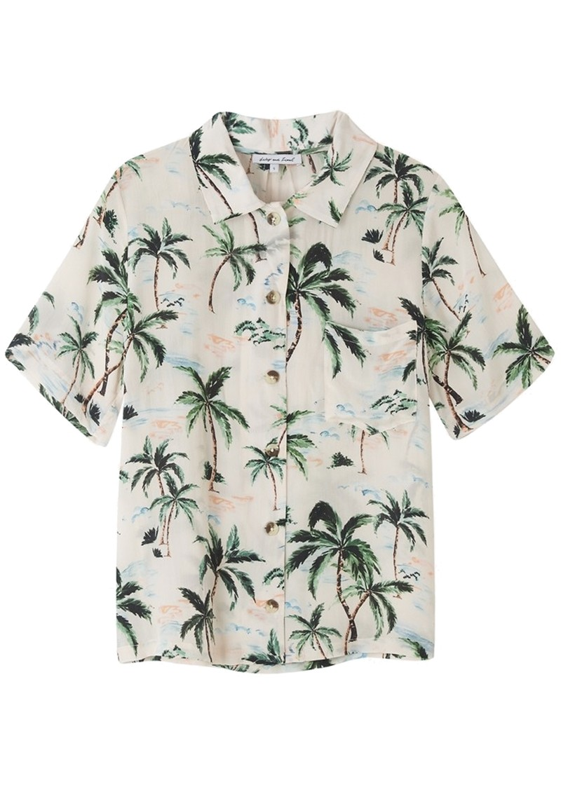 Lily and Lionel Ashley Silk Shirt - Palm Springs main image