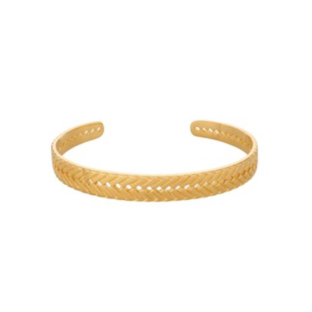 Geneve Bracelet Cuff - Gold