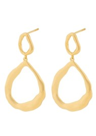 PERNILLE CORYDON Gaia Earrings -Gold