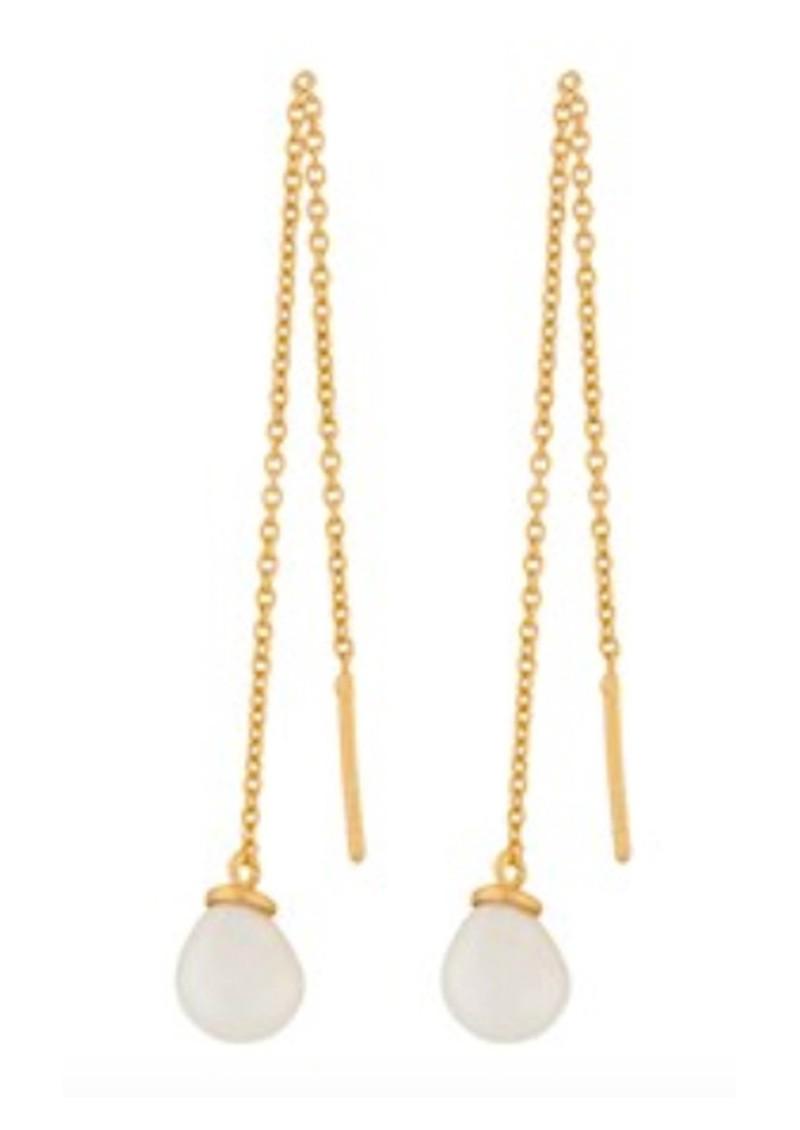 PERNILLE CORYDON Lagoon Ear Chains - Gold main image