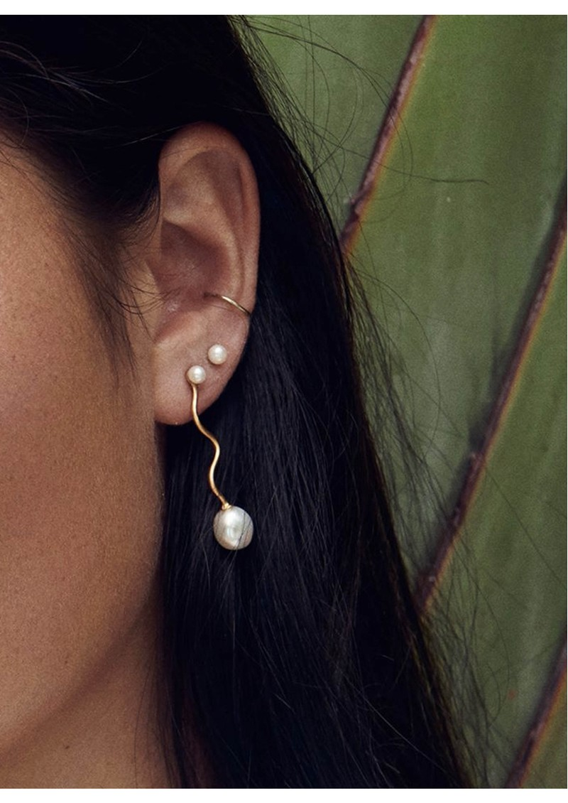PERNILLE CORYDON Lagoon Earrings - Silver main image