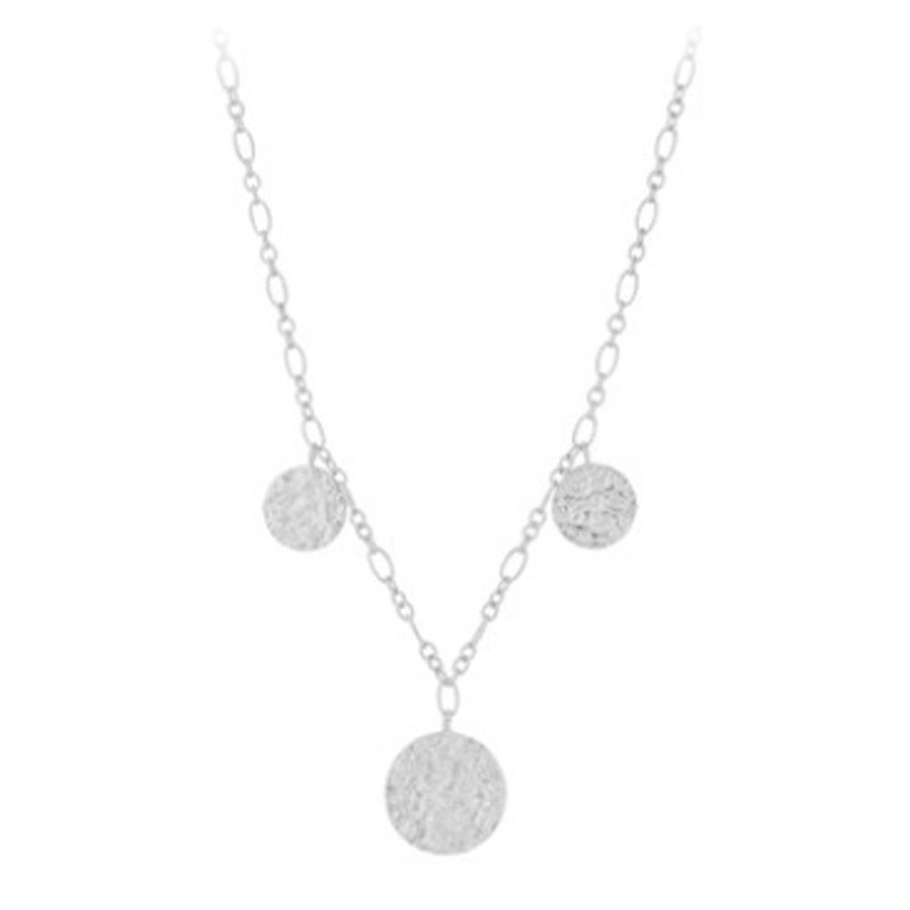 New Moon Necklace - Silver