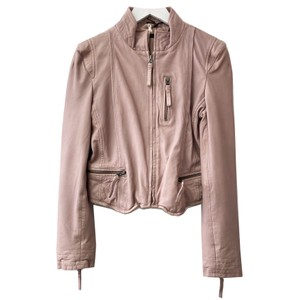 Rucy Leather Jacket - Mushroom