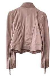 MDK Rucy Leather Jacket - Mushroom