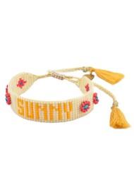 MISHKY Sunny Beaded Bracelet - Neutrals