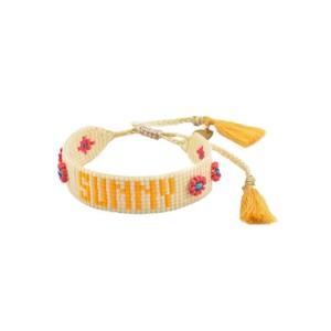 Sunny Beaded Bracelet - Neutrals
